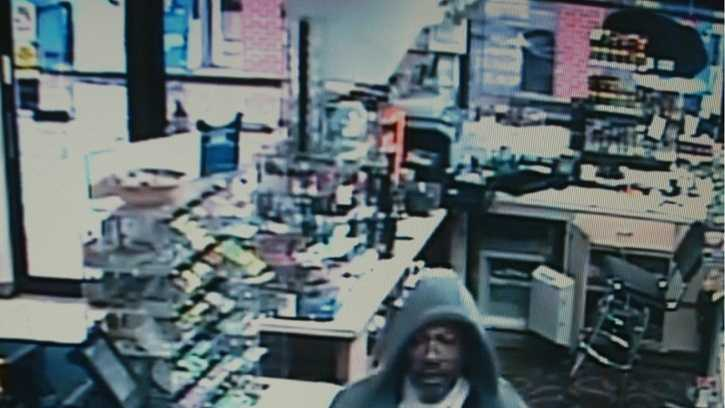 Deputies search for man in Exxon robbery