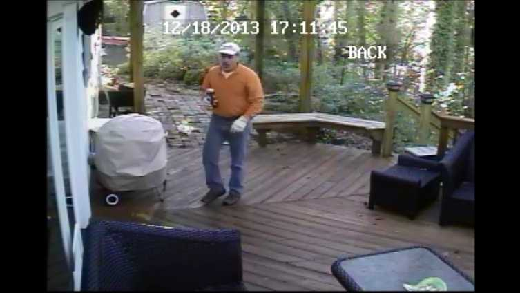 Person of interest sought in burglary