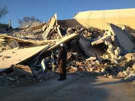 In the rubble that once was Scott Towers, emergency crews will learn how to respond to a disaster.