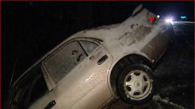 Driving dangers in winter storm