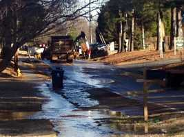 A water main break caused traffic problems in Taylors Friday morning. The Taylors Fire Department has closed Cunningham Road from Dellrose Circle to Old Spartanburg Road.