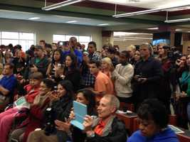 It was a packed house at Easley High School Wednesday morning for signing day.