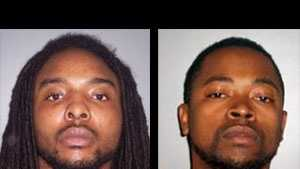 Deshanndon Markelle Franks and Tevin Oneil Hill: charged with murder
