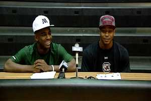 Hyleck Foster (Gaffney)- Marshall, Shaq Davidson (Gaffney)- South Carolina