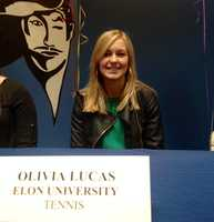 Olivia Lucus (Christ Church) - Elon University for Tennis