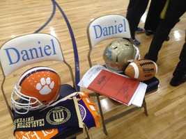 National Signing Day at Daniel High School