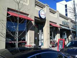 Laurey's Caterting and Cafe on Biltmore Avenue in Asheville