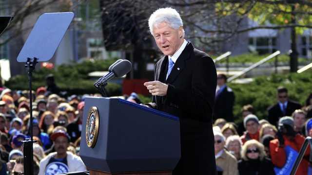 Bill Clinton speaks