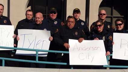 Anderson police say hi to Tyler