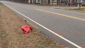 Cherokee County hit and scene