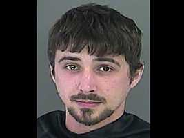 Justin Grey Smith: charged with grand larceny