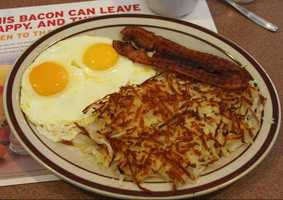 To make the list, restaurants had to have at least four nominations.  The winner had 31! Here's are the Upstate's top breakfast restaurants, from least to most popular.