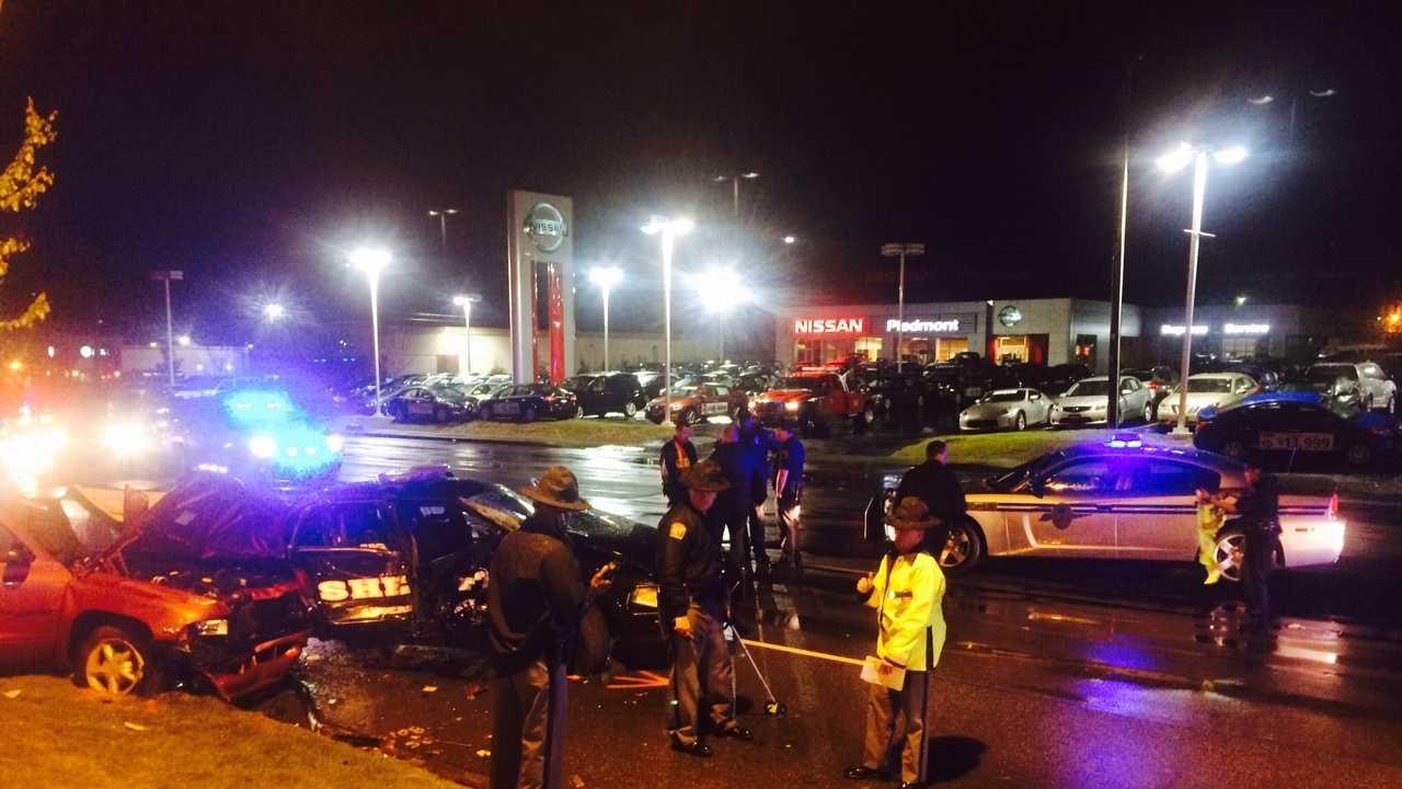 Clemson Blvd. deputy-involved wreck