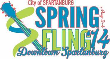 The Spartanburg Spring Fling runs May 2-4 in Downtown Spartanburg. Festival goers can look forward to a professional bicycle race, lots of great shopping in the arts and crafts marketplace, savory food, tons of family-friendly activities, classic cars, an extensive lineup of great entertainment, and a whole lot in between. For more information: http://www.cityofspartanburg.org/spring-fling