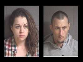 Amber Dawn Ingle, David Glenn Adkins, Jr.: wanted in Buncombe County, N.C. for multiple warrants.