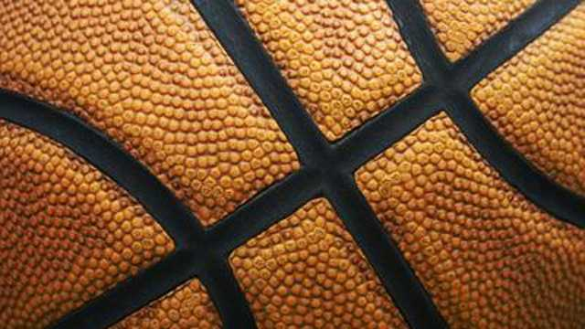 Basketball closeup, sports, NBA