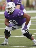 Dakota Dozier an offensive linemen from Furman University was selected with the 137 overall pick in the fourth round by the New York Jets. Dozier was a stand out for the Furman Paladins starting on the offensive line all four years.