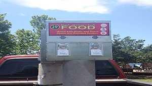 Duck food vending machines