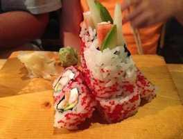 3rd Place: Sushi-Masa, Pelham Road, Greenville: 23 nominations
