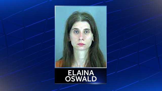 Elaina Oswald: Charged with unlawful neglect of child