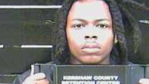 Darius D'Andre Pollard: charged with failure to stop for a blue light, child endangerment