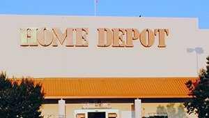 Home Depot fire (no trucks)