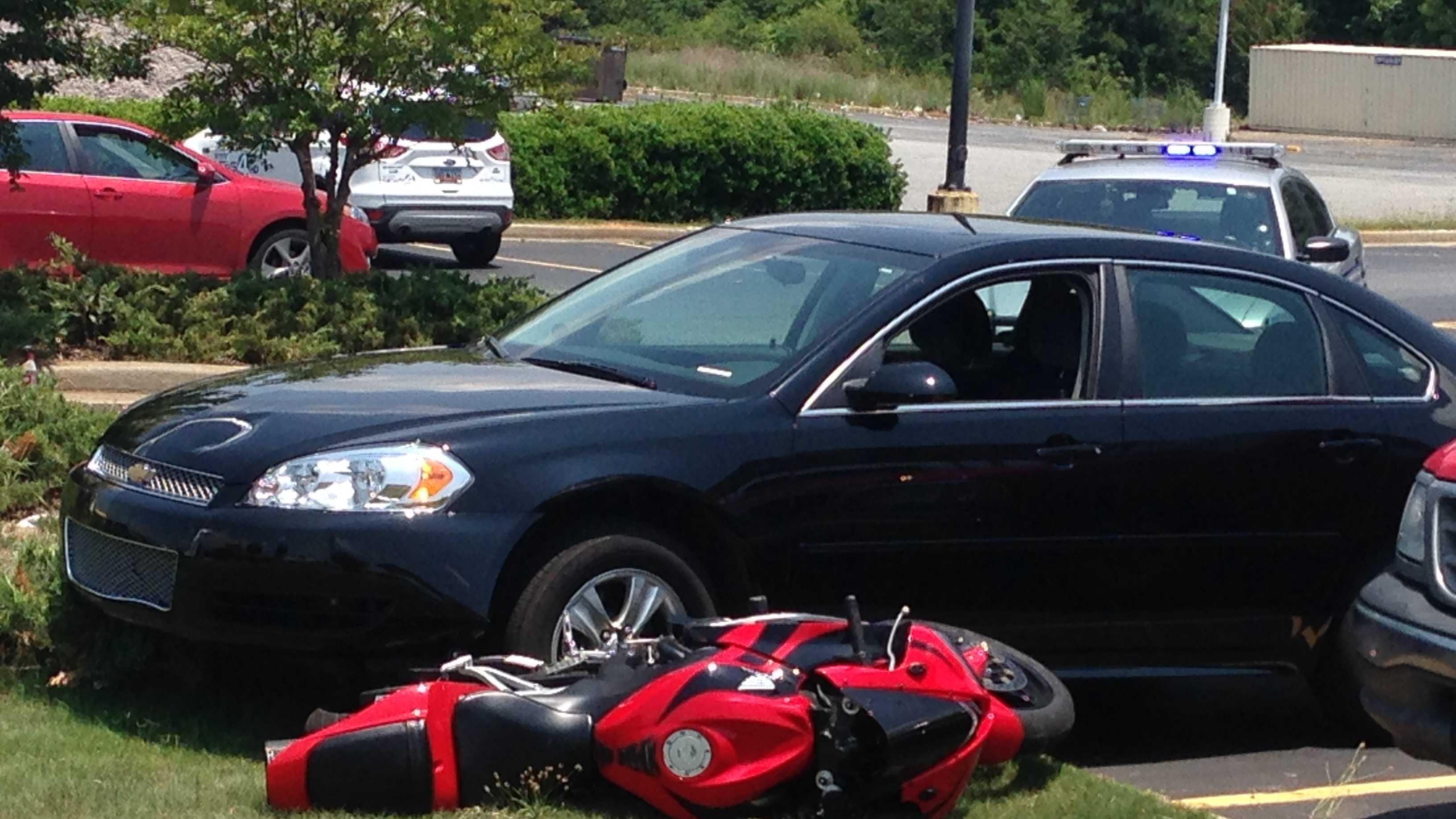 deputy involved wreck walmart parking lot