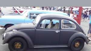 stolen VW beetle