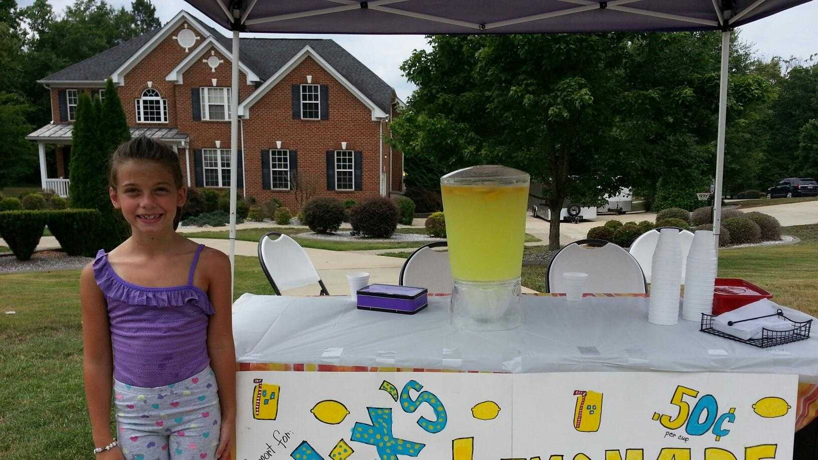 Molly Barnes continues her support of 'Alex's Lemonade Stand'