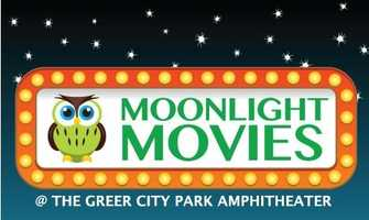 The city of Greer has movies at the Greer City Park Amphitheater on Thursday nights through July 31. The Moonlight Movies series is free.  Preshow activities include free inflatables, line dancing, and a chance to win awesome door prizes. Movies start at dusk every Thursday night during the summer. Concessions will be available for purchase. For a list of what movies are playing, click HERE.