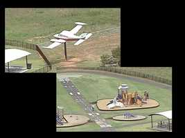 Take the kids for an afternoon of fun at the Greenville Downtown Airport Runway Park. The park sits besides the Runway Cafe at the Greenville Downtown Airport at 21 Airport Road Extension. The park has aviation-themed equipment as well as a track around the park where you can ride bikes. Kids can also enjoy watching planes take off and land at the airport.