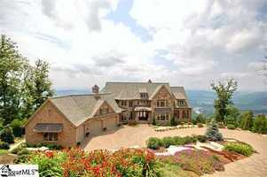 Travelers Rest: This 9000 square foot home has 6 bedrooms, 6 full baths and 3 half baths.
