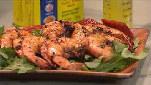 Jeff Bannister's Grilled Shrimp