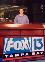 At the age of 13, he decided that he wanted to be a news reporter. In high school he got the rare chance to spend a few months interning at the Fox station in Tampa, Florida.