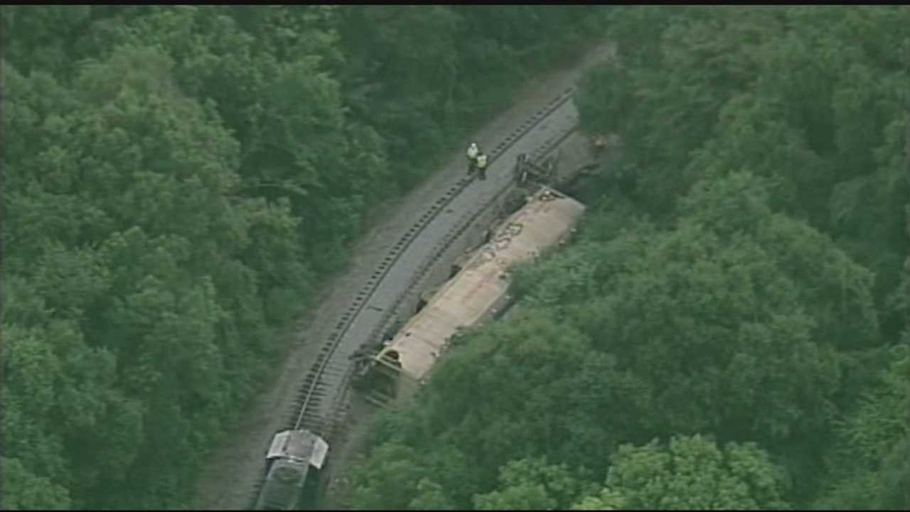 Train carrying ethanol derails in the Upstate