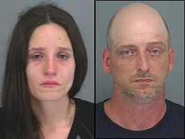 Deanna Boubaris, Jarrod Wiggins: Accused of child abuse