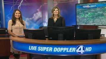 Pamela is the meteorologist on WYFF News 4 Today Weekends.