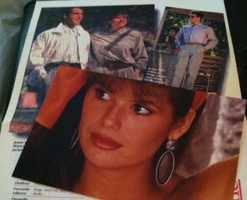Through her early 20's Pamela modeled… mostly as a way to travel. She was featured in campaigns for an Australian department store called John Martin. John Martin's went out of business in 1998. Pamela claims no responsibility.