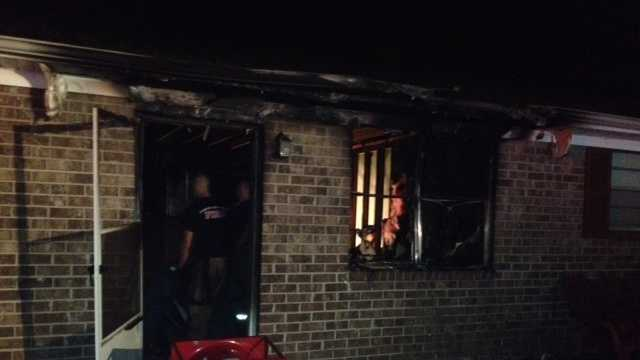 Apartment fire displaces residents in Spartanburg County