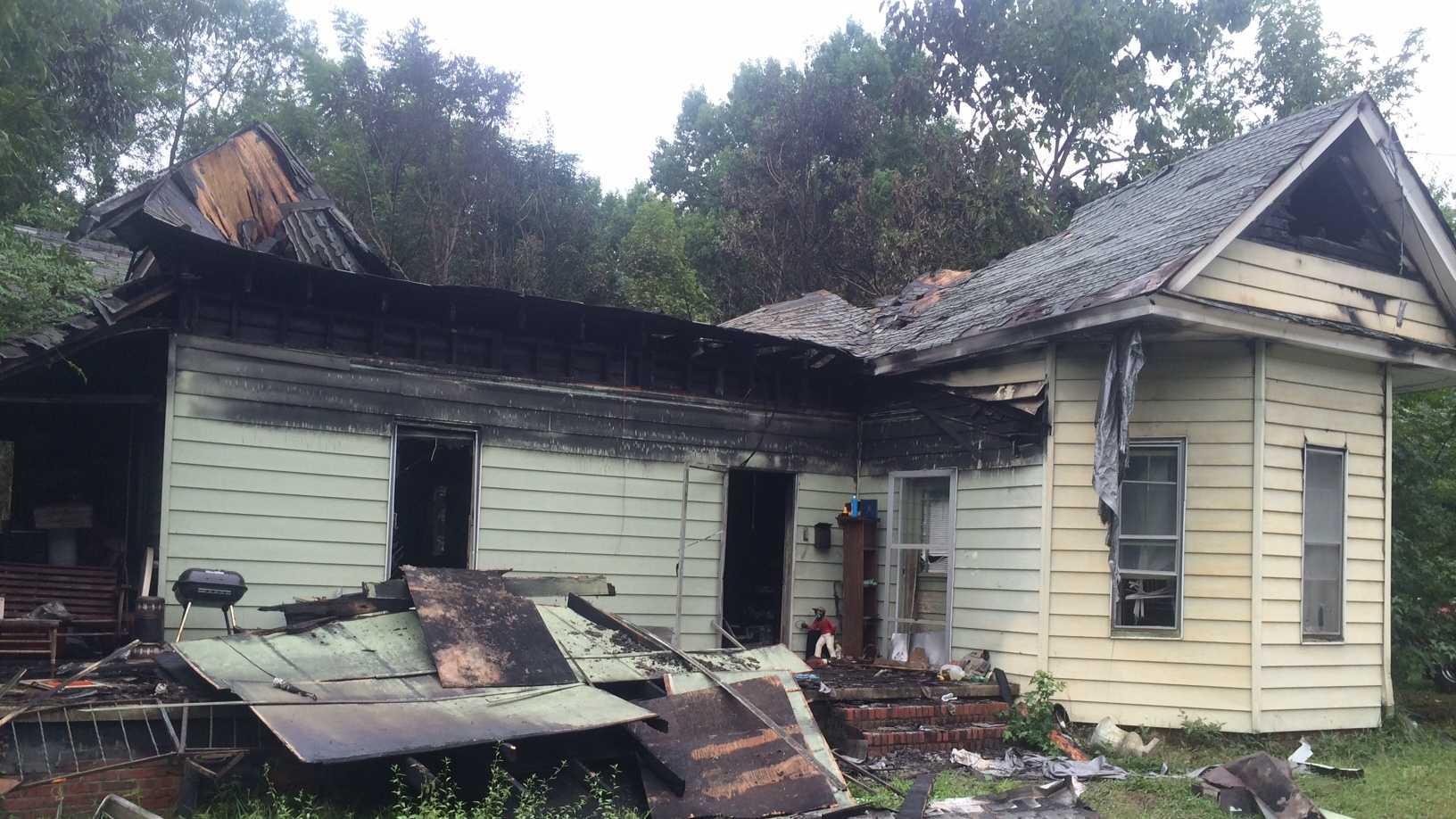 Easley arson investigation
