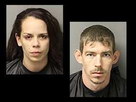 Christopher William Underwood, Brandy Nicole Underwood: charged with grand larceny