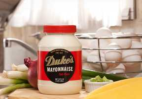 In 1929, The C.F. Sauer Company, purchased Duke's and agreed to maintain the family recipe. They also hired Eugenia as chief salesperson. In 2012, Duke Sandwich Productions, Inc. purchased an 80,000 square foot manufacturing facility in Easley that now makes 240 jars of mayonnaise a minute.