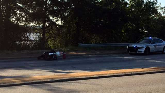 Rutherford Road moped wreck