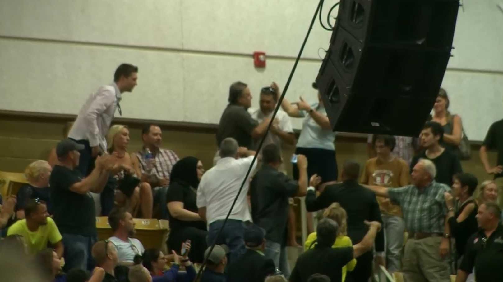Trump rally assaults, arrests