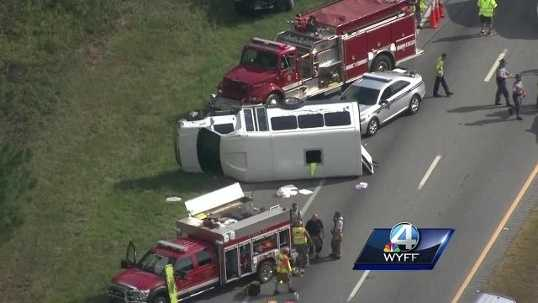 Church bus crash