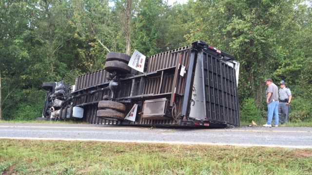 amazon truck overturned 1.JPG