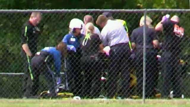 Townville shooting victim airlifted.jpg