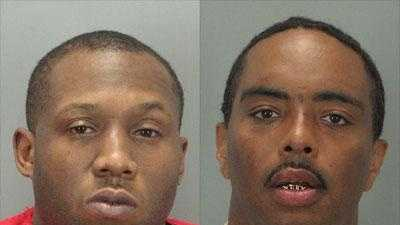Garcia Wilson and Michael Hockaday: sentenced to prison in the 2004 shooting death of a third man in Greenville.