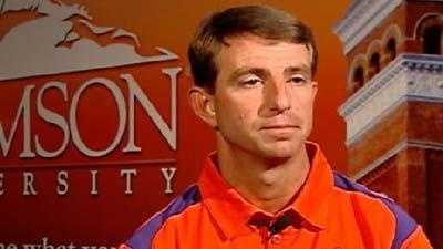 Dabo Swinney, 2012 file photo