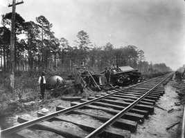 Wires were cut and the railroad tracks were torn apart, cutting residents off from the outside world and vice versa.